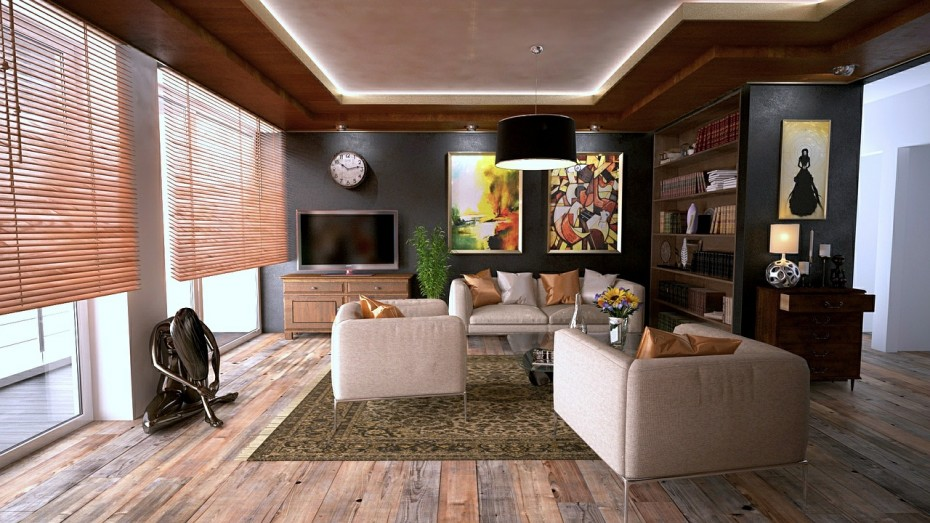 Twelve Interior Design Ideas for a Combined Living and ...