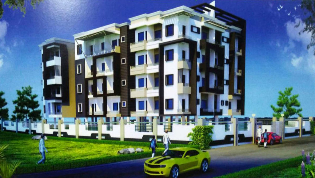 2 BHK 1215 SQFT FLAT ON 2ND FLOOR IN BOOTY MORE - RANCHI