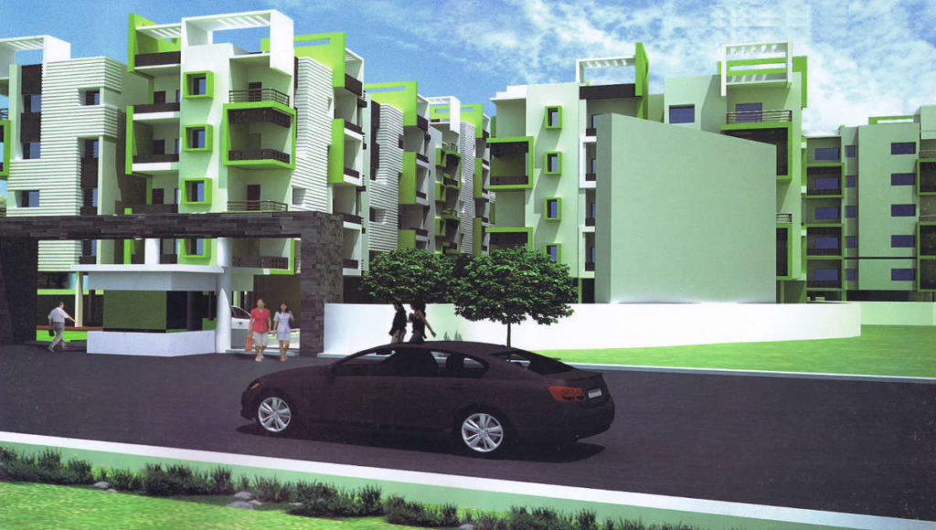 3 BHK 1700 SQFT READY TO MOVE FLAT IN LALPUR - RANCHI